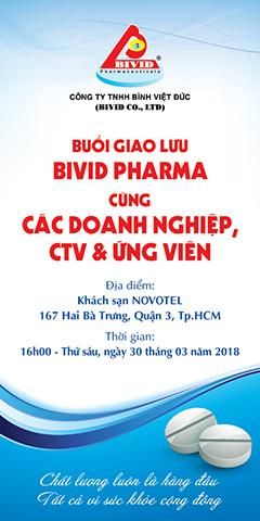Buổi giao lưu Bivid Pharma với các doanh nghiện, ktv và ứng viên