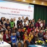 Họp mặt các bệnh nhân suy giảm miễn dịch tiên phát Việt Nam – Lần thứ nhất