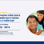 """Hội thảo """"Miễn dịch dự phòng Viêm gan B và Globulin miễn dịch trong các bệnh lý hiếm gặp"""" tại TP. HCM 3/2014"""