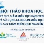 Hội thảo chuyên đề tại Bệnh viên Nhi Trung Ương – Hà Nội 4/4/2016