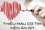 Thiếu máu cơ tim nên ăn gì để bệnh nhanh thuyên giảm?