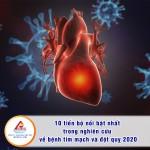10 tiến bộ nổi bật nhất trong nghiên cứu về bệnh tim mạch và đột qụy 2020